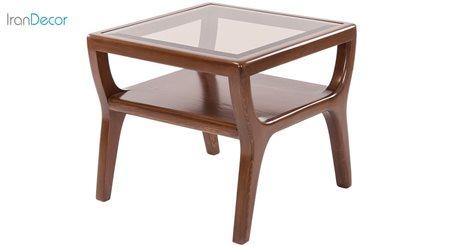 Picture of میز عسلی نیک آذین مدل جنوا صفحه شیشه ای