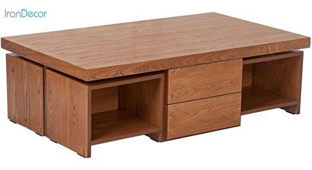 Picture of میز جلو مبلی نیک آذین مدل آلفا - کد 4S