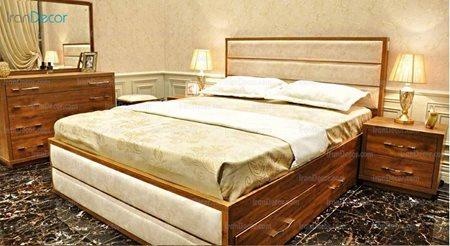 سرویس خواب مدل آوین از ساج آسا