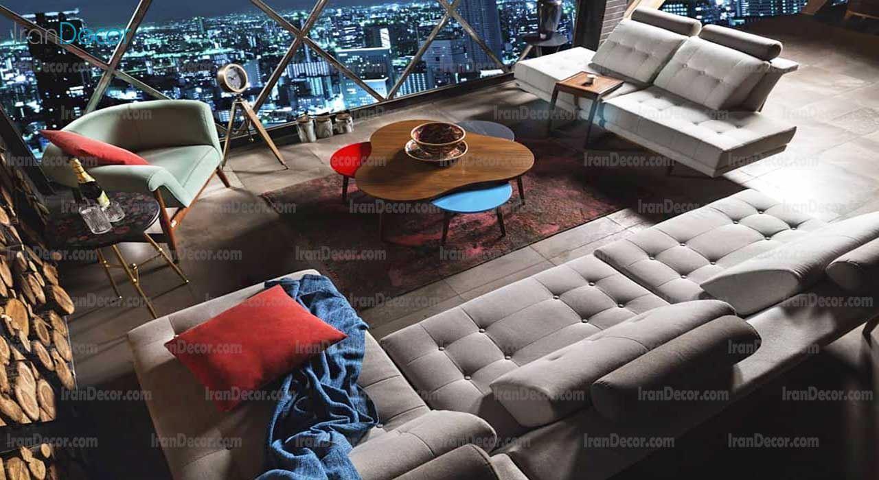 مبلمان راحتی مدل ال ژینکو از یاشیل