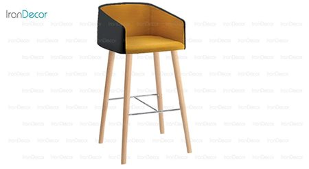 صندلی بار نایس مدل N301BW از صنایع نظری