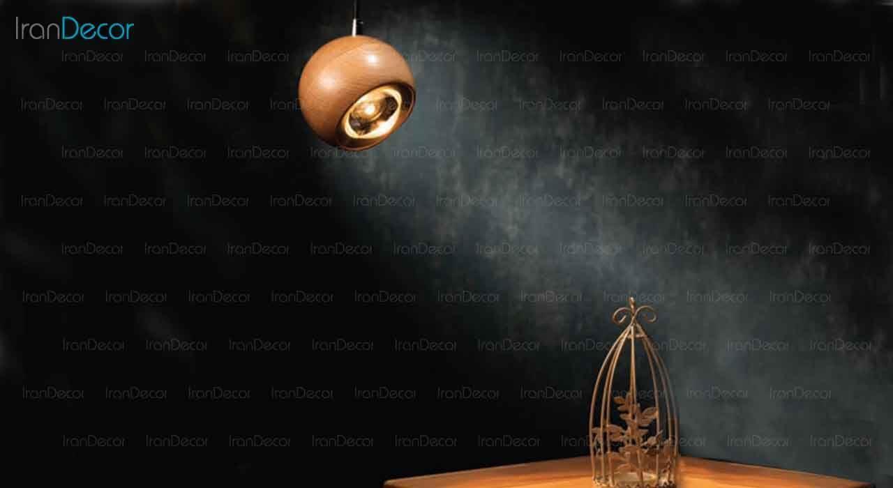 چراغ آویز کروی مدل W0110 از سان هوم
