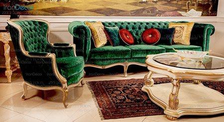 مبلمان کلاسیک مدل چستر از مبلمان زیتون