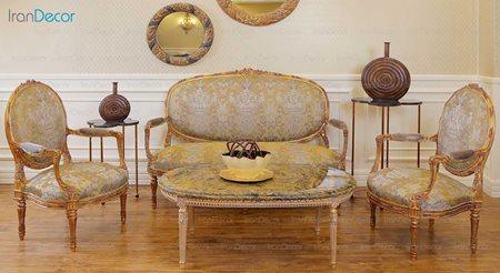 مبلمان کلاسیک مدل آزاله از آریو دیزاین
