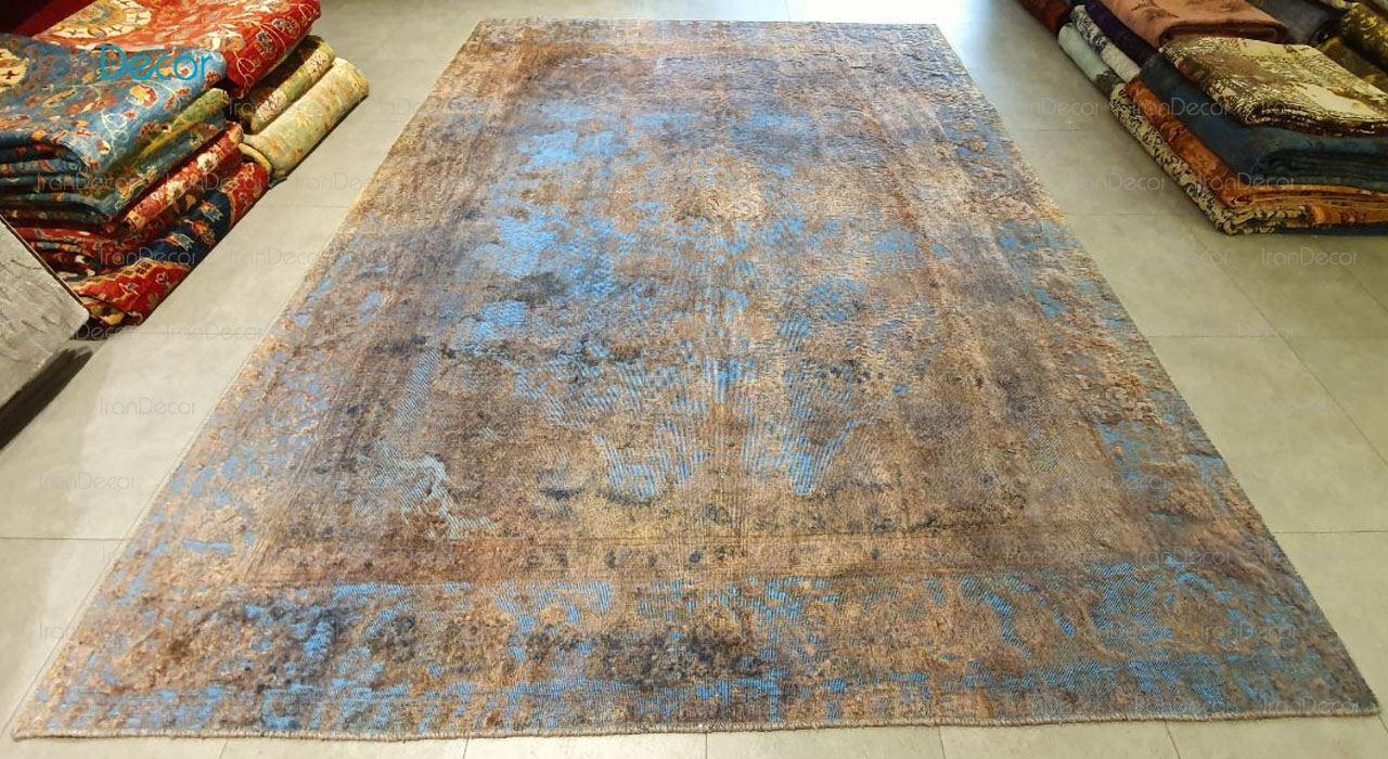 فرش دست بافت وینتیج مدل کیمیا K052