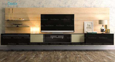 میز تلویزیون و شلف مدل WS_02 از مبلمان سگال