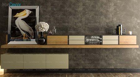 میز تلویزیون و باکس مدل WS_01 از مبلمان سگال