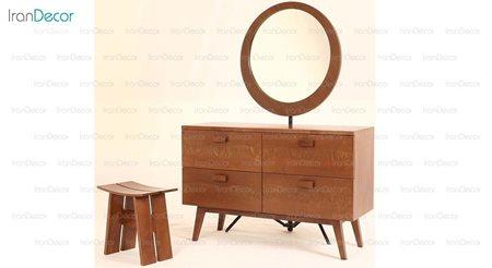 سرویس میز آرایش و آینه مدل سویل از نقشینه