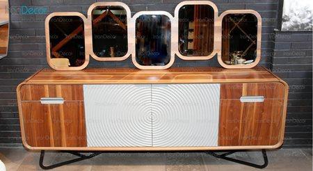 سرویس آینه و کنسول مدل برتا از مبلمان یاشیل