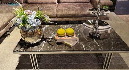 میز جلو مبلی سنگی مدل سویل از یاشیل