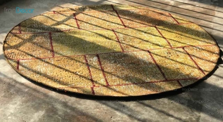 قالیچه تکه دوزی دستباف از فرش لیا