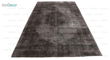 فرش وینتیج مشکی از فرش لیا