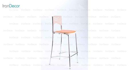 صندلی کانتر تشک دار کافه مدل P110B از صنایع نظری