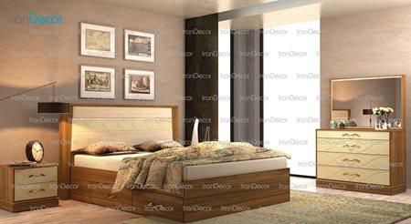 سرویس خواب مدل کارینا از ساج آسا