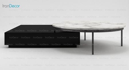میز جلو مبلی مدل Box از مبلمان سگال