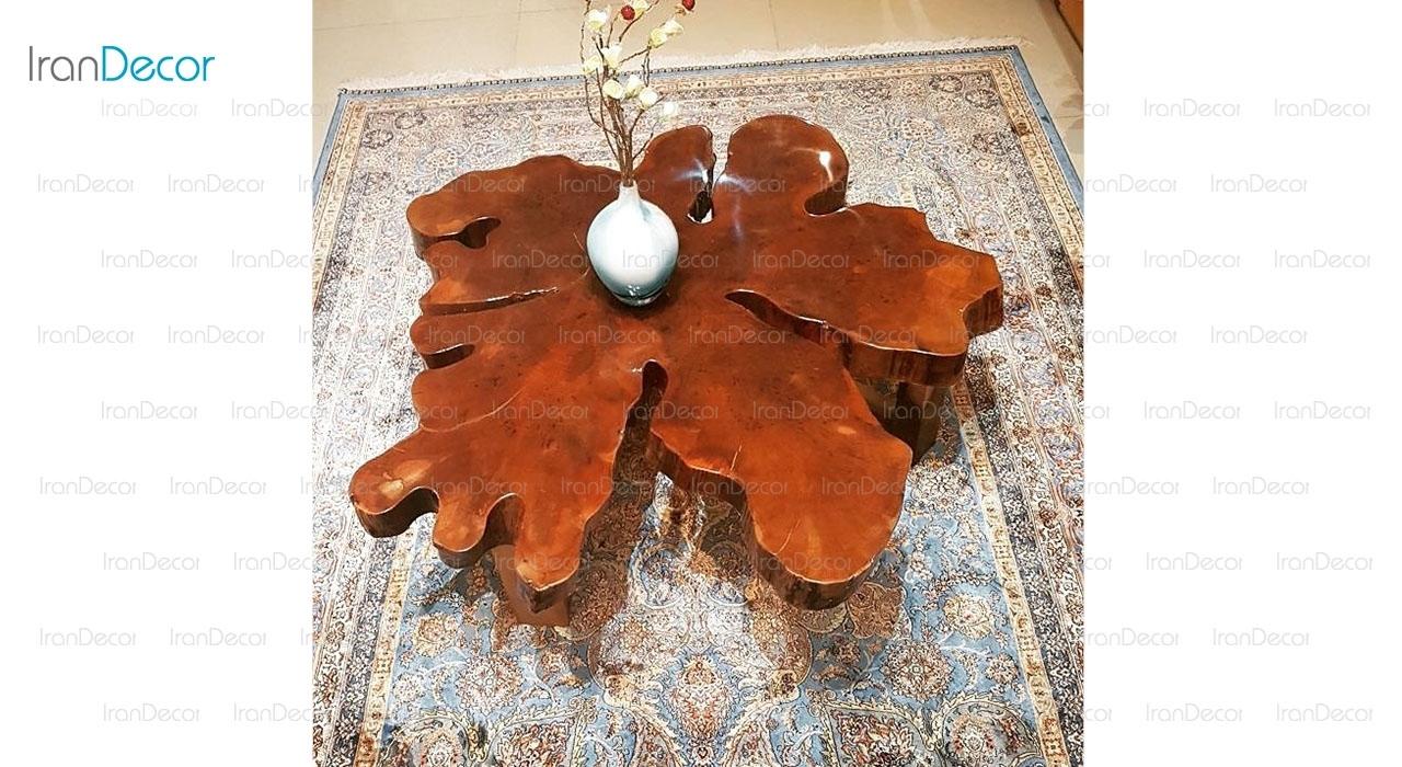 میز جلومبلی چوب و رزین مدل 3141از ویترا