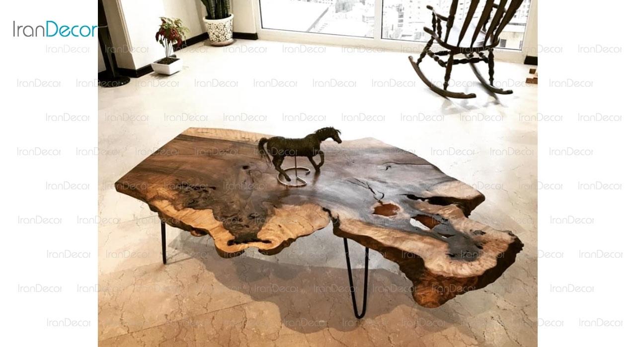 میز جلو مبلی چوبی مدل 3100 از ویترا