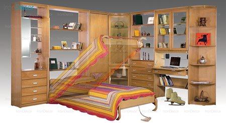 سرویس کامل اتاق خواب مدل خانه کوچک از ایران آد