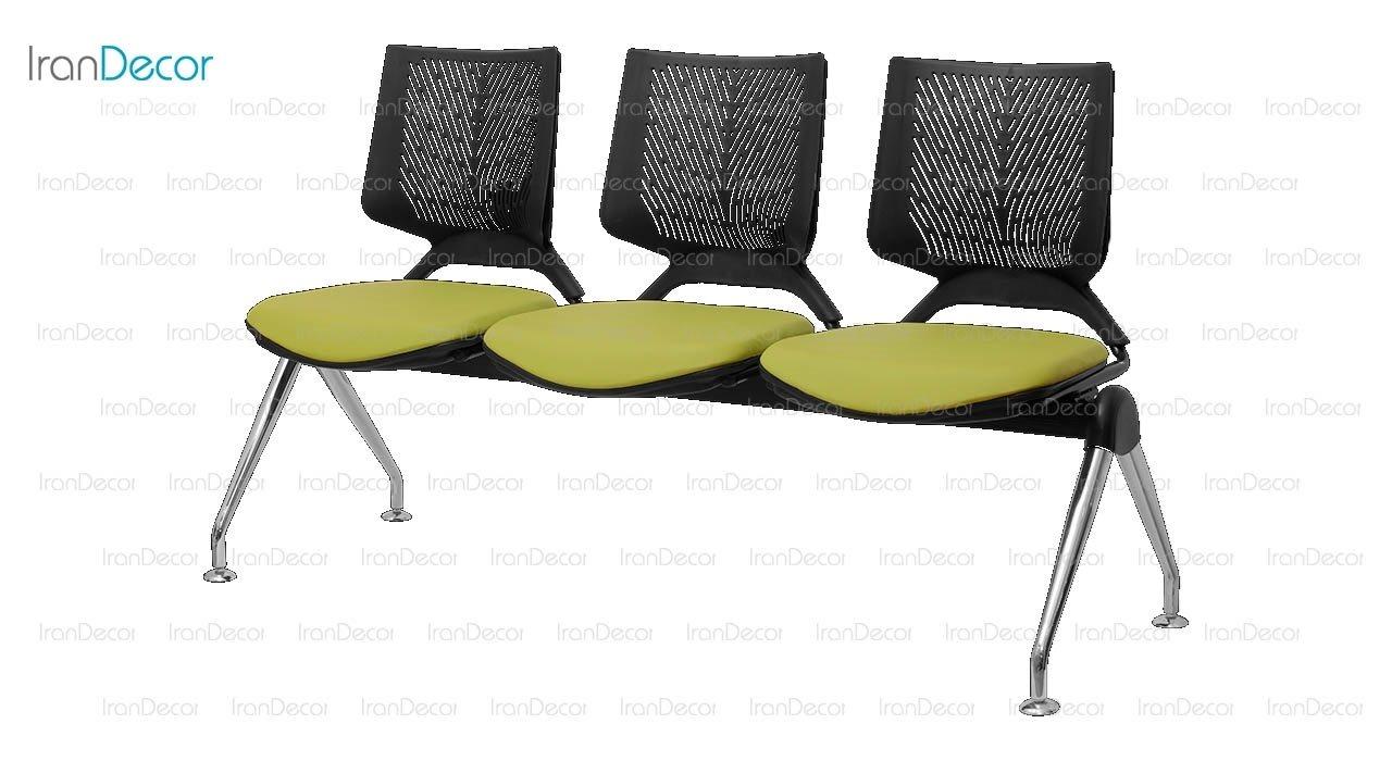 صندلی انتظار سه نفره وینر II مدل P223 از صنایع نظری