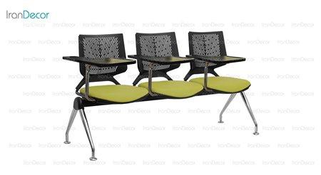 صندلی آموزشی سه نفره وینر مدل P223S از صنایع نظری