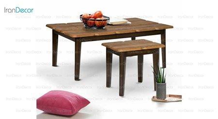 سرویس میز جلو مبلی مدل فانتزی از میشا چوب