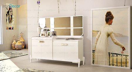 آینه و کنسول مدل هانا از ساج آسا