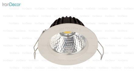 چراغ هالوژن سقفی توکار مدل L5625 از سان مون