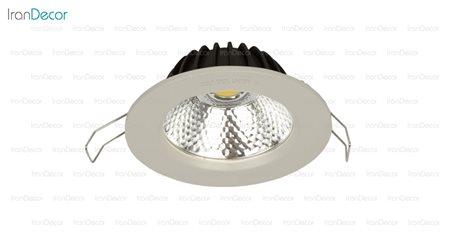 چراغ هالوژن سقفی توکار مدل L5630 از سان مون