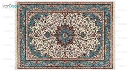 فرش ماشینی مدل اصفهان کِرِم رنگ از کرامتیان