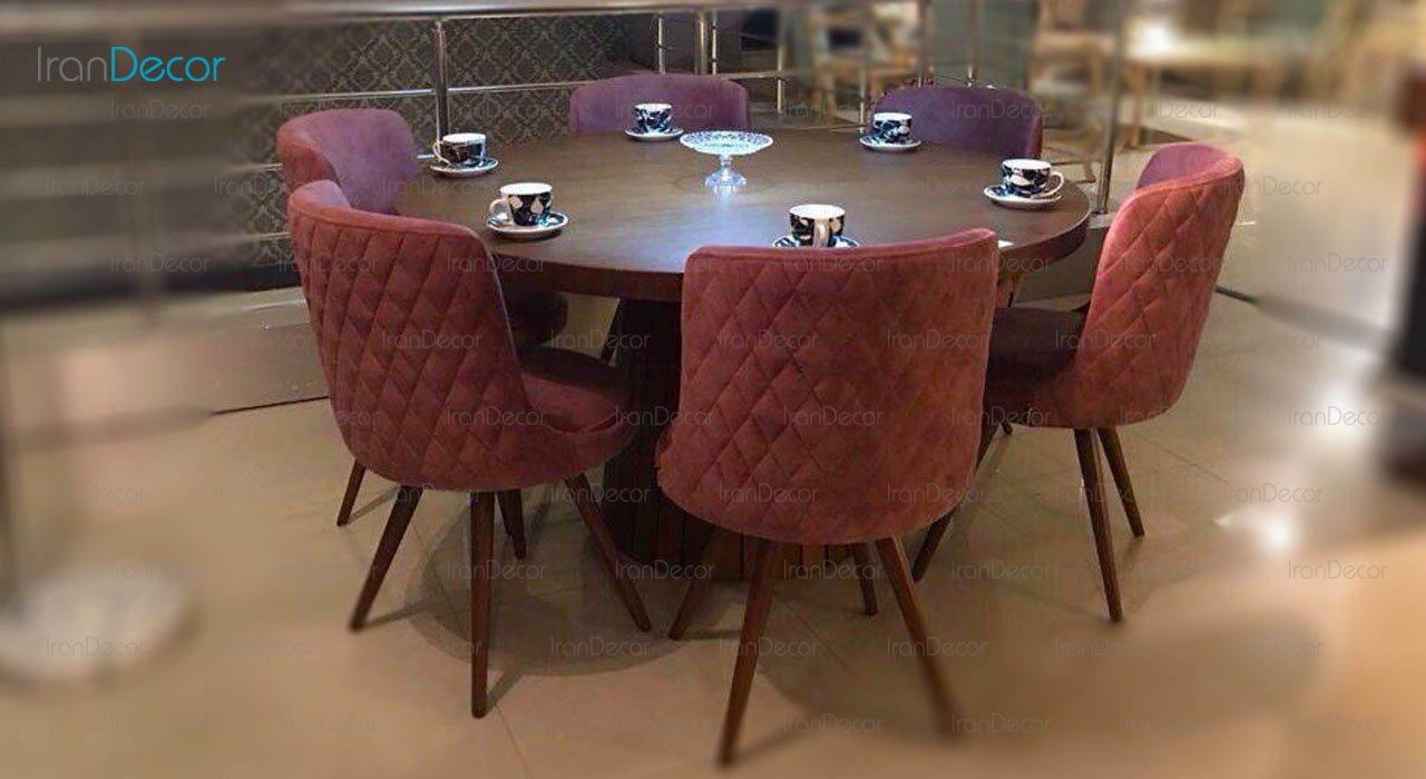 سرویس ناهار خوری مدل فلاور از پاپلی جیووانی