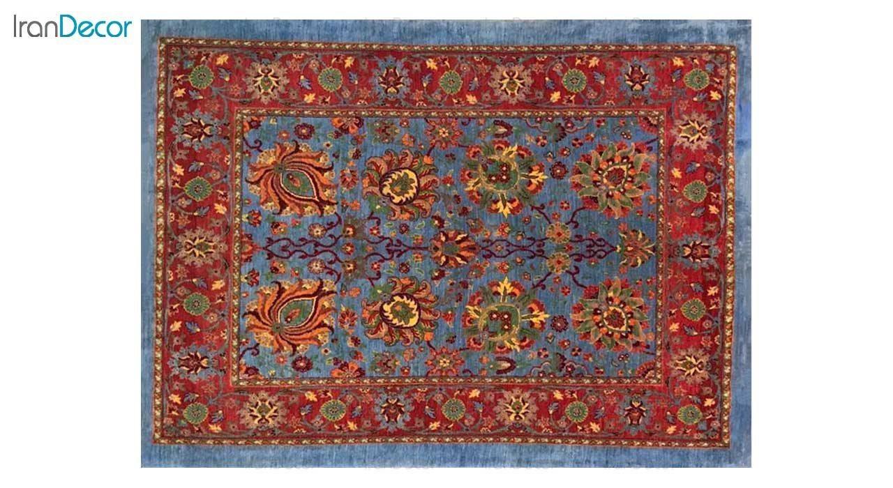 فرش دستباف طرح افشان صفویه کد 3225 از رحیمی