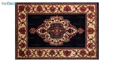 فرش دستباف طرح ترنج دار کد 2018 از رحیمی