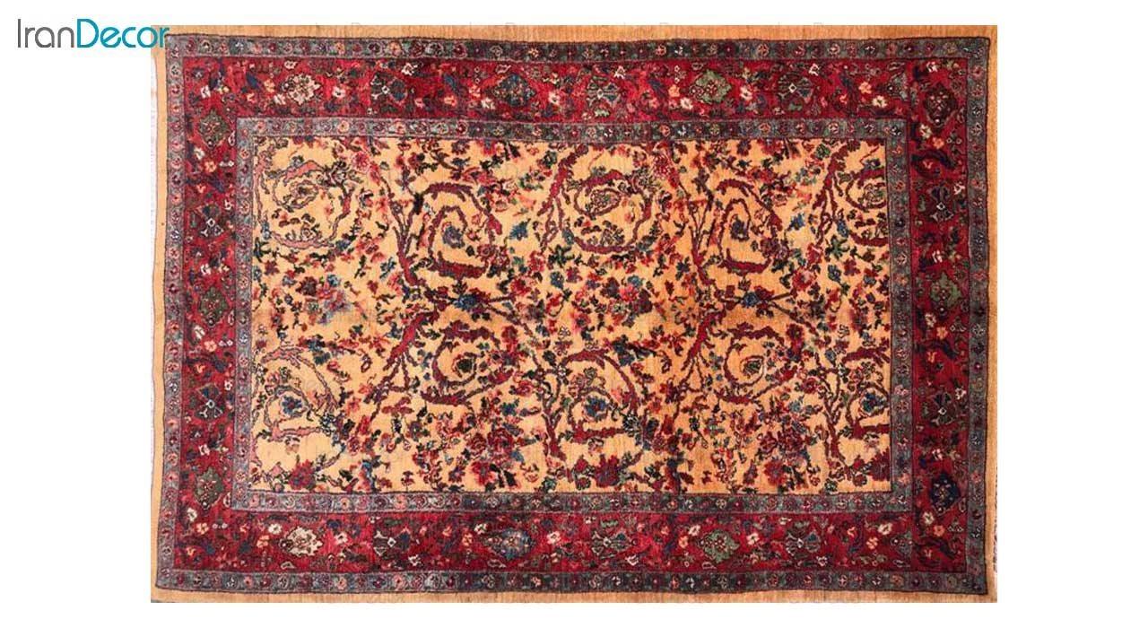 فرش دستباف طرح بیجاری کد 4273 از رحیمی