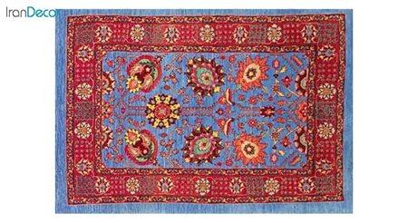 فرش دستباف طرح افشان صفویه کد 4242 از رحیمی
