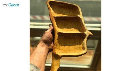 آجیل خوری چوبی دسته دار مدل 360