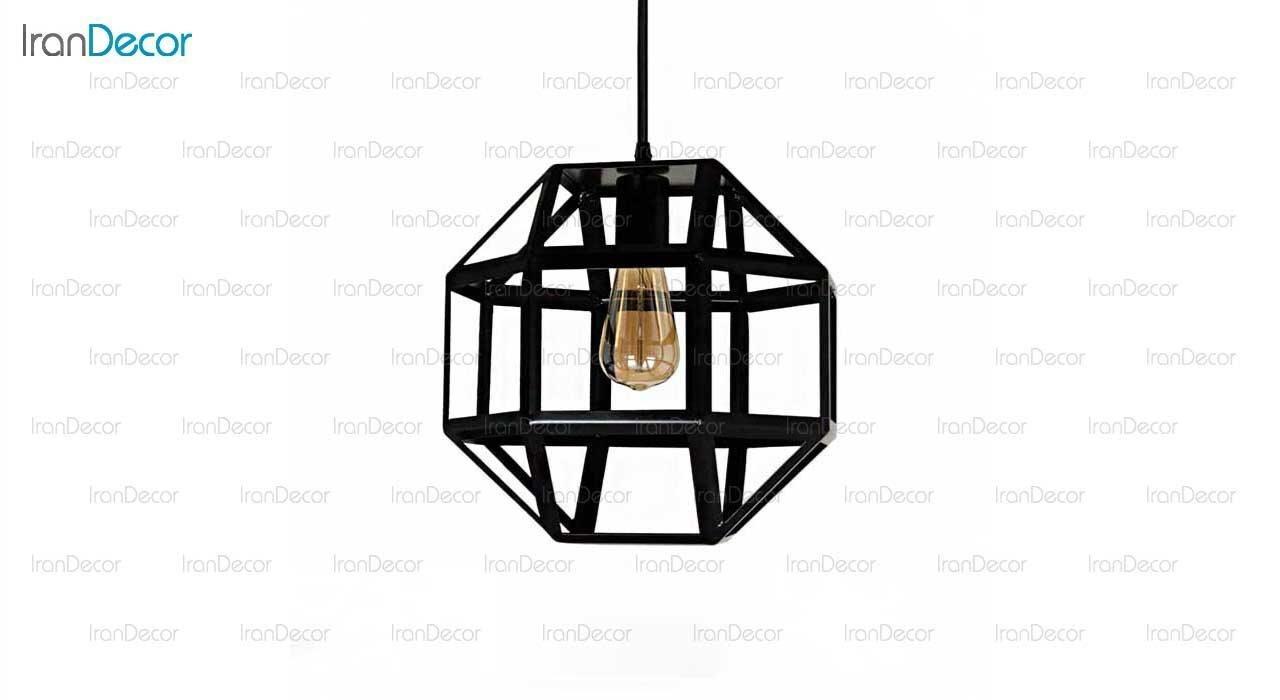 چراغ آویز مدل توپ تسمه ای 1298 از رستمی
