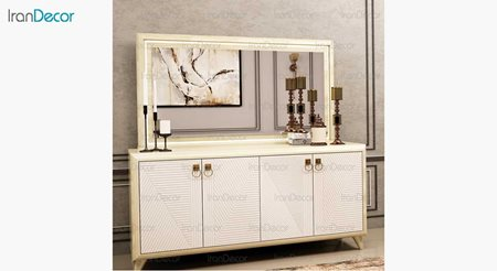 آینه و کنسول مدل ملودی از ساج آسا