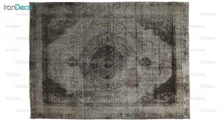 فرش دستباف وینتیج مشکی از ایپک