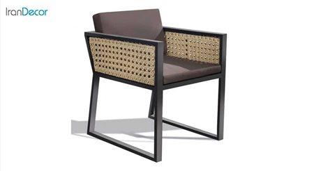 صندلی باغی حصیری مدل رویان از بورنووی