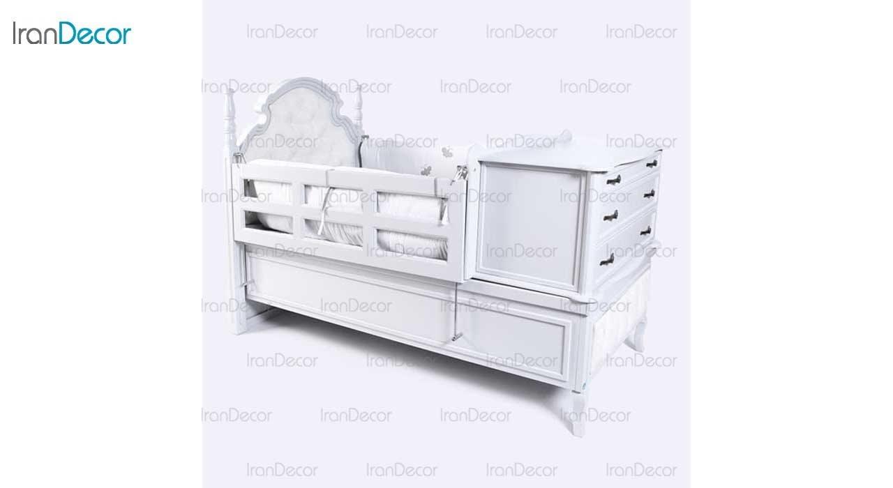 سرویس خواب نوزاد مدل دومان از گامرون چوب