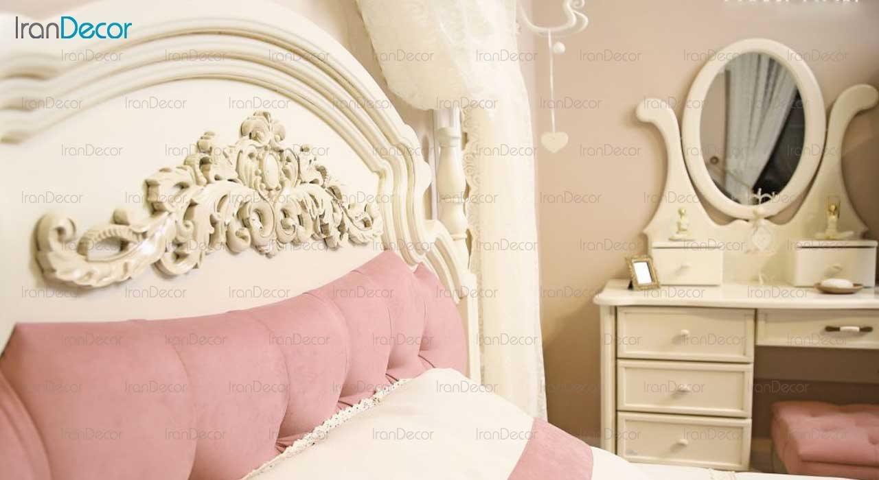 تخت خواب نوجوان مدل آرکانا از گامرون چوب