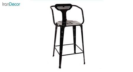 صندلی اپن دسته دار فلزی مدل بیتا کد 132 از نهال سان