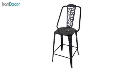 صندلی فلزی طرح سنگ مدل نوید کد 132 از نهال سان