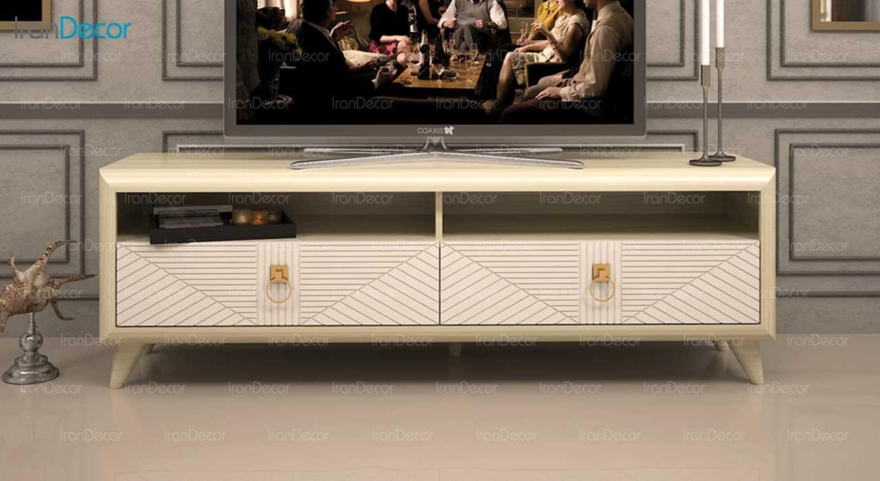 میز تلویزیون مدل ملودی از ساج آسا