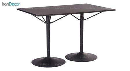 میز فلزی مدل دو پایه کد 141 از نهال سان