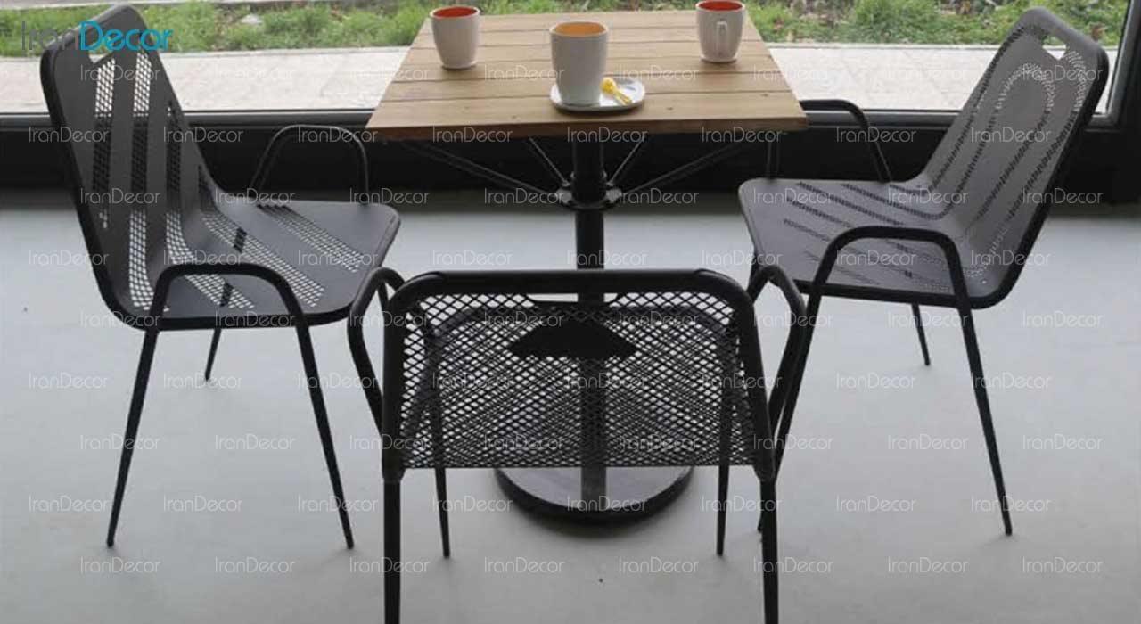 صندلی فلزی طرح تمام پانچ مدل نسیم کد 111 از نهال سان