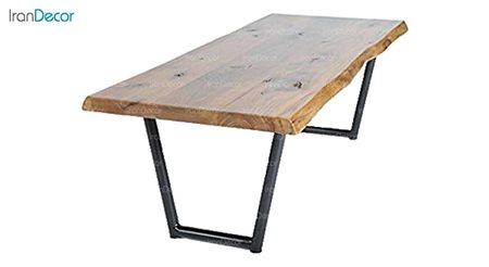 میز جلو مبلی چوبی مدل روستیک کد D001