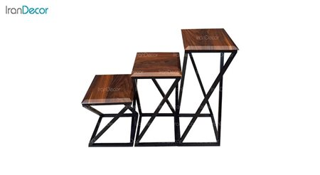 سرویس میز عسلی مربع مدل CFT-31-ST