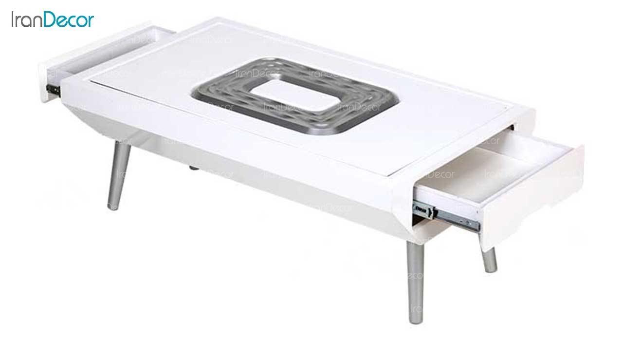 میز جلو مبلی مستطیل مدل CFT-19-K-OL