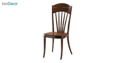 صندلی ناهار خوری مدل نیلوفر با کفی چوبی از فاما